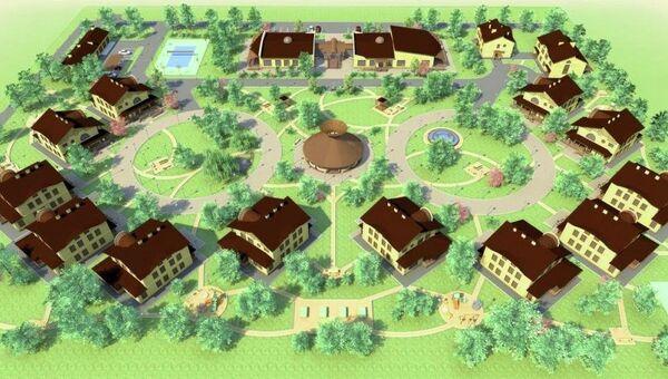План строительства детской деревни Виктория в Краснодарском крае