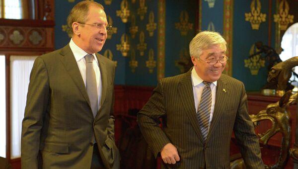 Встреча глав МИД России и Казахстана