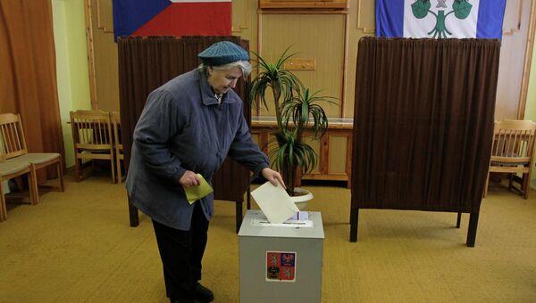 Второй тур выборов президента Чехии