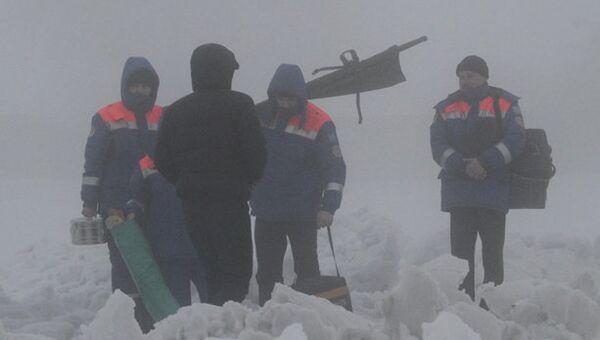 На месте крушения самолета под Алма-Атой