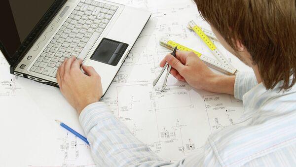 Инженер за работой. Архивное фото