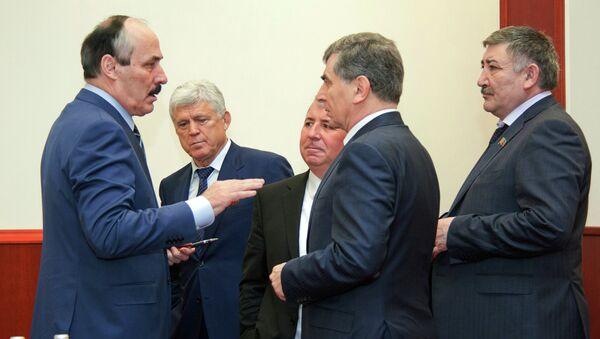 Председатель Правительства Дагестана Мухтар Меджидов