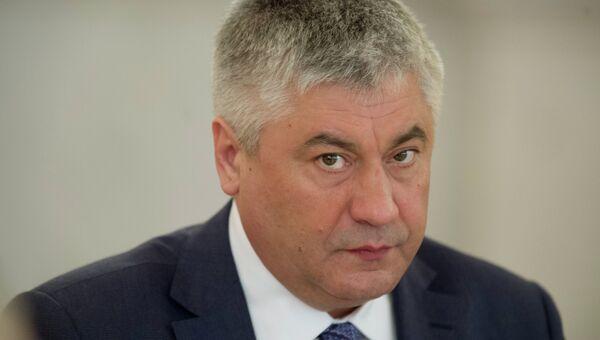 Министр внутренних дел РФ Виктор Колокольцев