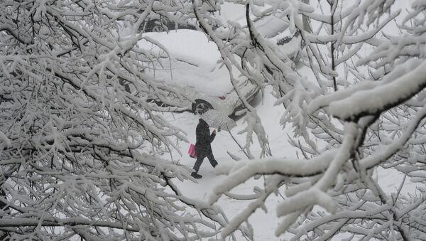 Обильный снегопад