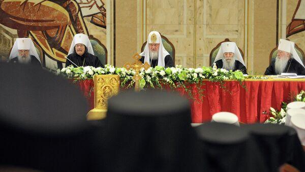Архиерейский Собор Русской Православной Церкви, архивное фото