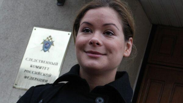 Мария Гайдар вызвана на допрос в Следственный комитет РФ