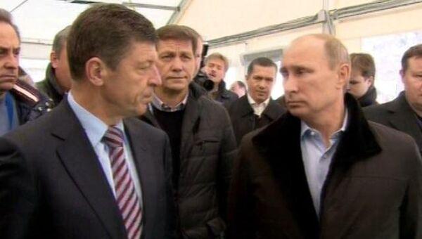 Путин раскритиковал вице-президента ОКР за срыв сдачи объектов Сочи-2014
