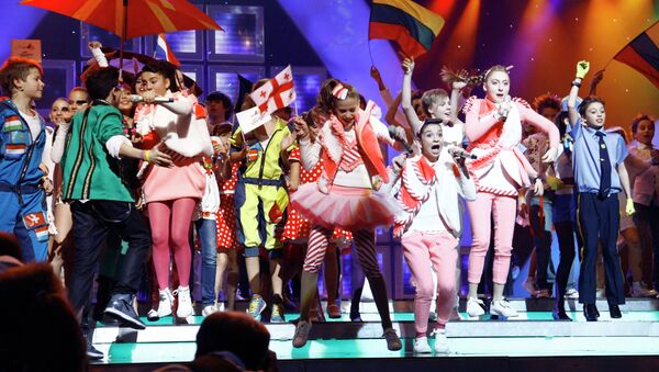 Конкурс исполнителей детской песни Евровидение. Архивное фото