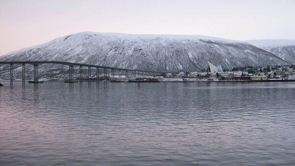 Город Тромсё, Норвегия. Архивное фото