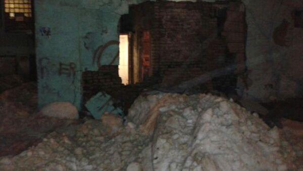 Обрушение дома в Подмосковье