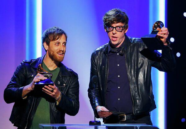 Участники группы Black Keys на церемонии вручения премии Грэмми