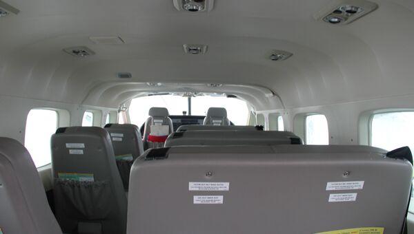 Салон самолета ВС Cessna Grand Caravan 208 B