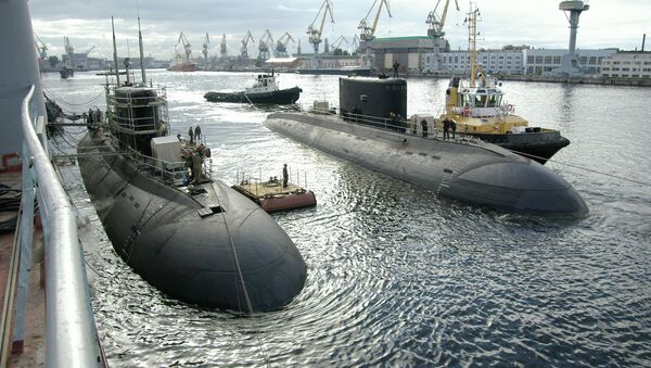 Подводная лодка проекта 636