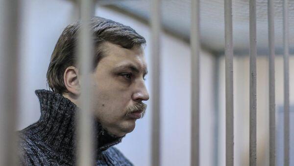 Михаил Косенко во время заседания в Мосгорсуде. Архив