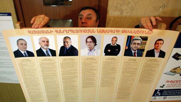 Президентские выборы в Армении