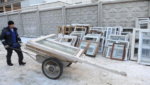 Последствия метеоритного дождя в Челябинске