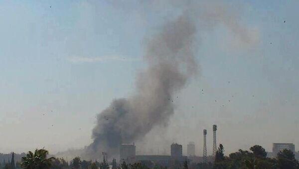 Рядом с посольством России в Дамаске прогремел взырв