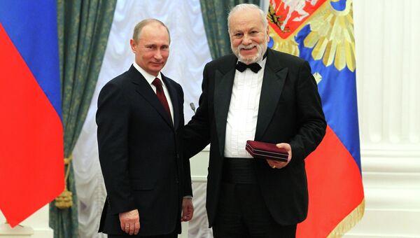 Президент РФ В.Путин вручил государственные награды в Кремле