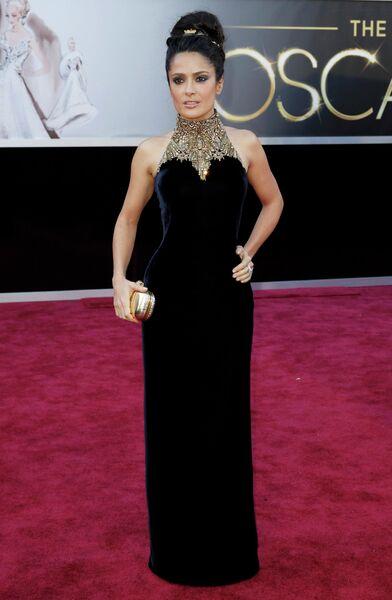 Сальма Хайек на 85-й церемонии вручения премии Оскар