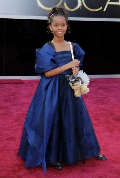 Кувенжане Уоллис на 85-й церемонии вручения премии Оскар