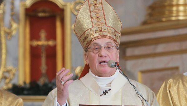 Архиепископ Митрополит Минско-Могилевский Тадеуш Кондрусевич. Архивное фото
