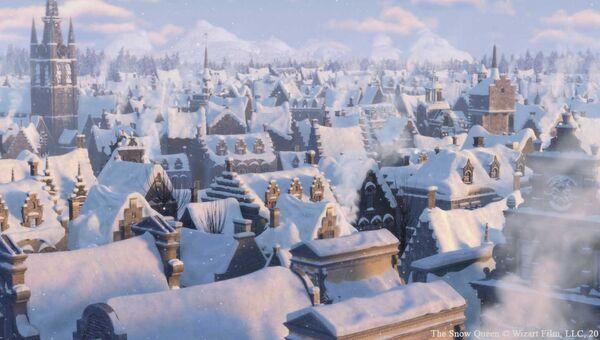 Кадр из мультфильма Снежная королева. Архивное фото