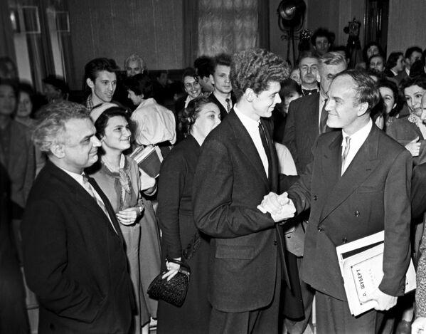 Пианисты В.Клиберн и С.Рихтер