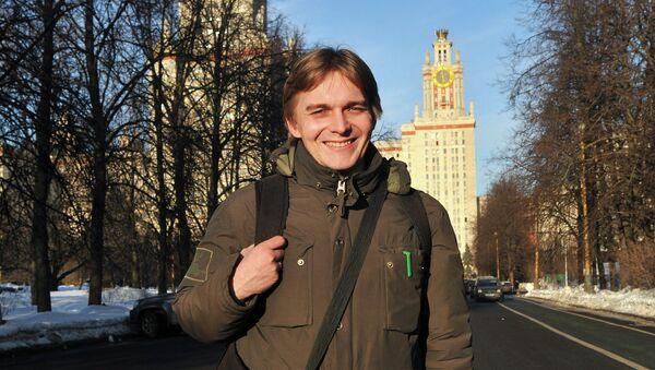 Преподаватель МГУ Михаил Лобанов