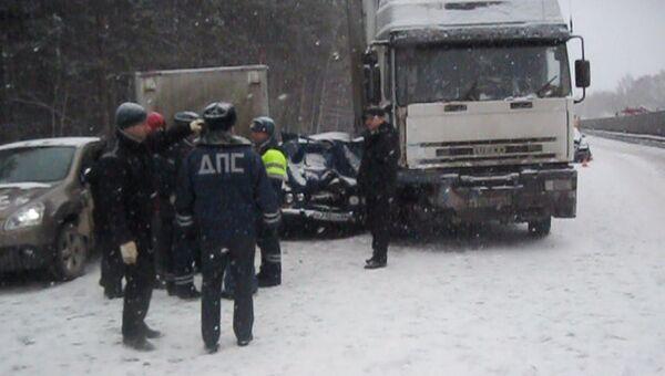 ДТП на трассе в Свердловской области