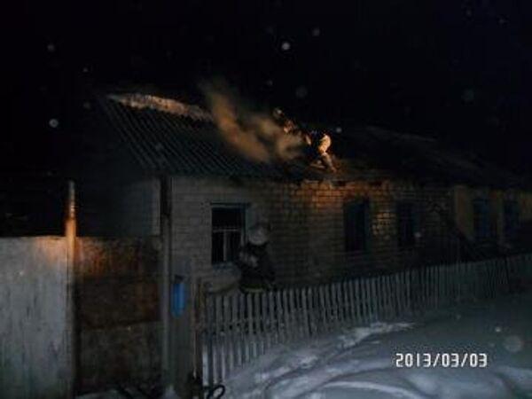 Пожар в Челябинской области