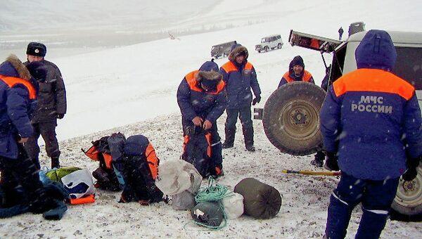 Поисковая команда в Туве