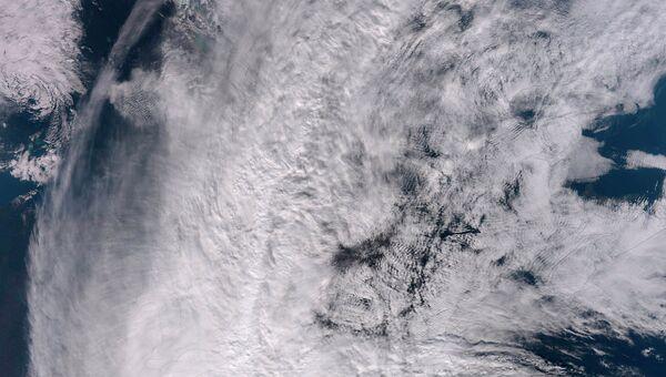 Ураган, вид из космоса. Архивное фото