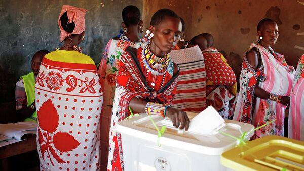 Президентские выбры в Кении
