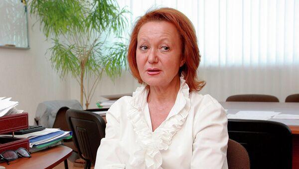 Экс-министр здравоохранения Новосибирской области Ольга Кравченко, архивное фото