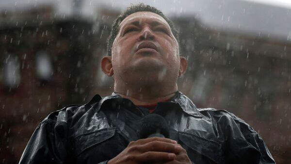 Президент Венесуэлы Уго Чавес. Архив