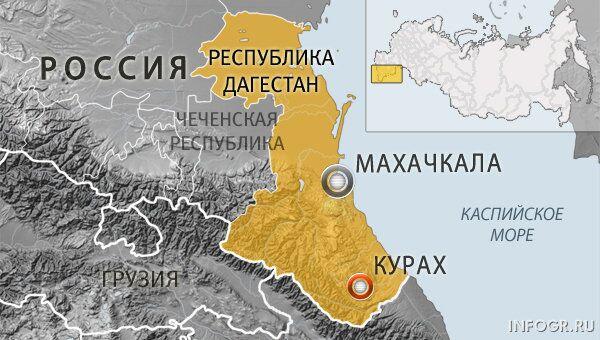 Дагестан, селение Курах