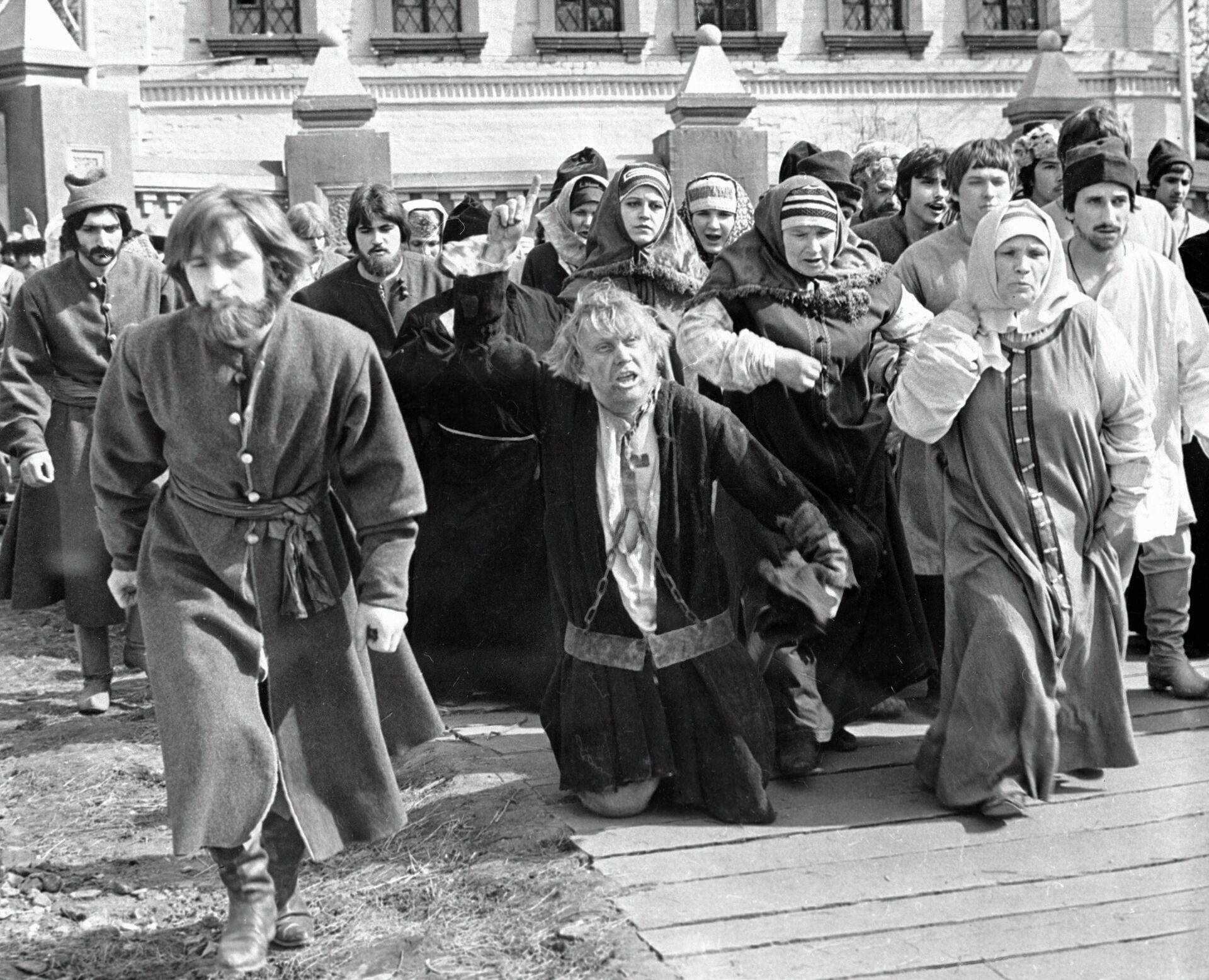Сцена из фильма Юность Петра - РИА Новости, 1920, 04.09.2020