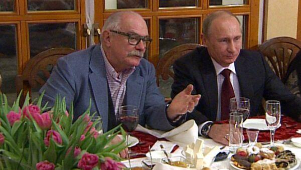 Юбилей Сергея Михалкова в родовом гнезде: на чай пригласили Путина