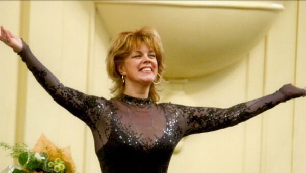 Любовь Казарновская с концертом в Академии музыки и театра