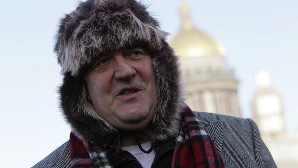 Стивен Фрай в Санкт-Петербурге