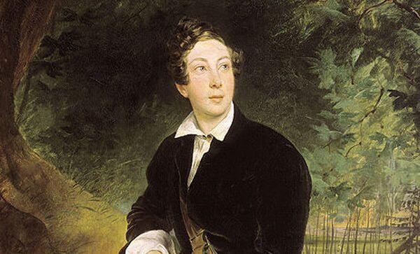 Толстой Алексей Константинович , портрет кисти К. П. Брюллова (1836 год)