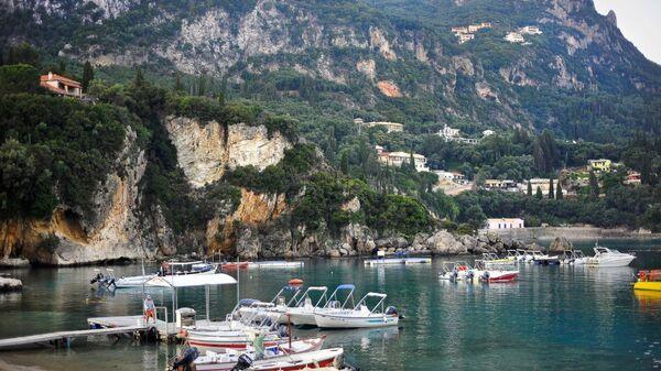 Курортный город в Греции