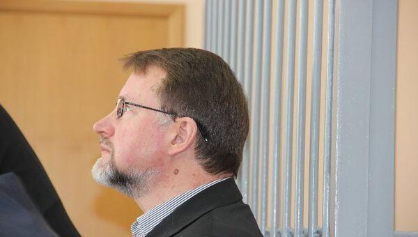 Экс-губернатор Тульской области Вячеслав Дудка в суде. Архив