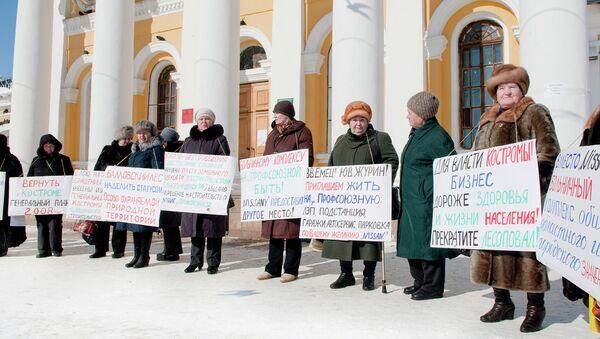 Экологи передали главе Костромы более 3 тысяч подписей против массовой вырубки деревьев
