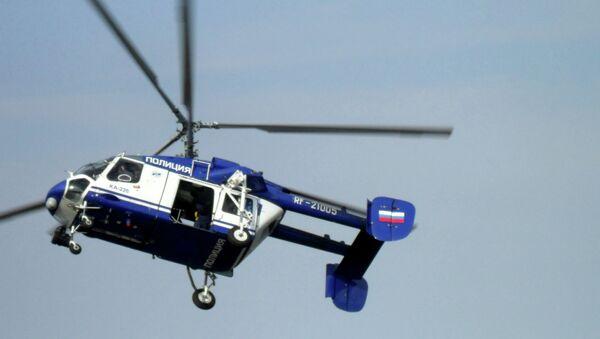 Вертолет МВД. Архивное фото