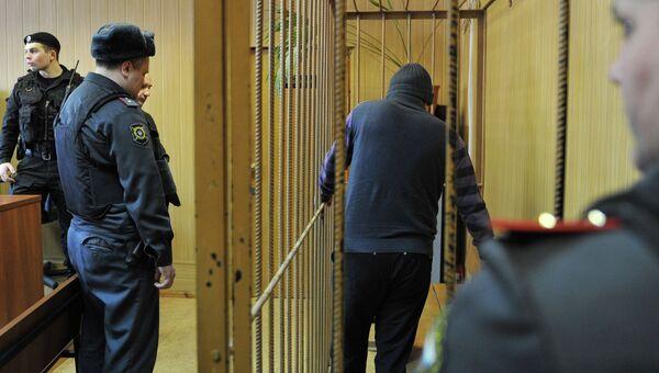 Бывший военнослужащий Валерий Даниелян в Тверском районном суде Москвы. Архивное фото