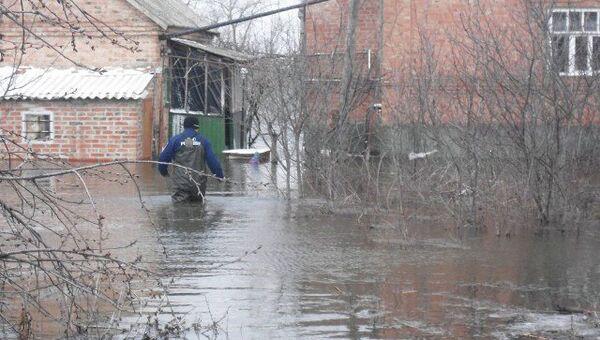 Подтопления в Ростовской области