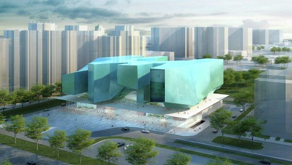 Проект компании Massimiliano Fuksas Architettо и российской мастерской SPEECH