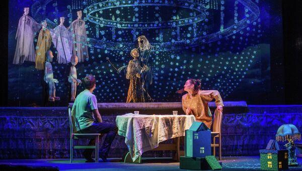 Спектакль Синяя птица на сцене Театра Образцова