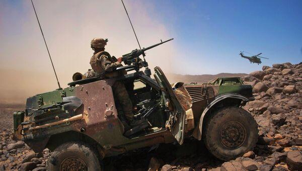 Французские военные в Мали